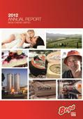 2012 Annual Report Cover page